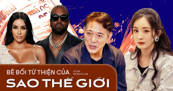 1001 phốt từ thiện showbiz: Lý Liên Kiệt 'nuốt trọn' ngàn tỷ, Dương Mịch và vợ chồng Kim Kardashian đều là 'trùm sò' lươn lẹo