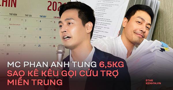 MC Phan Anh tung 6,5kg sao kê 24 tỷ kêu gọi cứu trợ miền Trung năm 2016, chấp nhận bị kiện nếu phát hiện dấu hiệu ăn chặn!