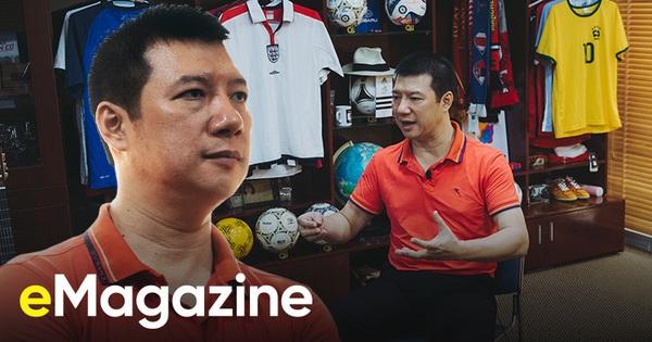 """BLV Quang Huy: """"Bóng đá nước nhà đã có những thành công là bởi bản lĩnh, ý chí, khả năng chịu đựng của người Việt đã được HLV Park Hang Seo xâu chuỗi và khơi dậy'"""