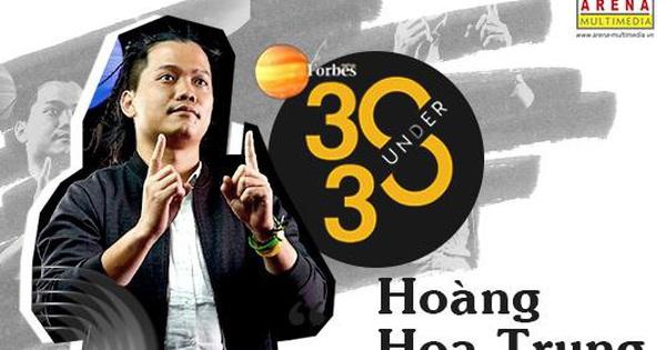 Gương mặt cựu học viên thứ 2 của Arena Multimedia trong danh sách Forbes 30 Under 30