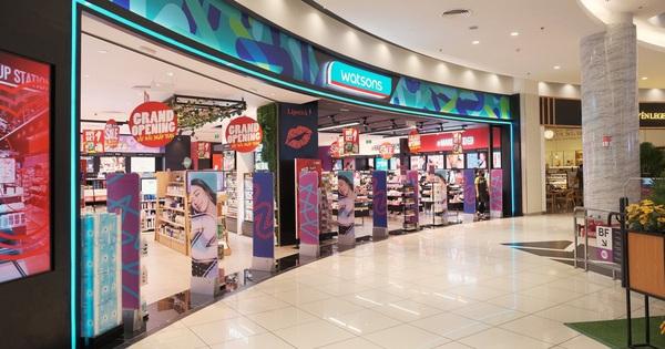 Watsons khai trương cửa hàng mới ở Tân Phú giúp thỏa mãn ''cơn khát'' của các tín đồ làm đẹp
