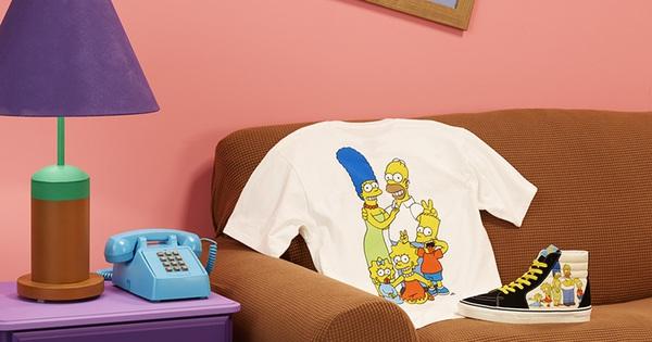 """Vans x The Simpsons tung hàng loạt cực phẩm siêu cưng, nhìn thôi đã muốn """"gói mang về"""""""