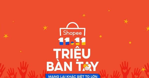 Shopee khởi động chương trình gây quỹ cho trẻ em
