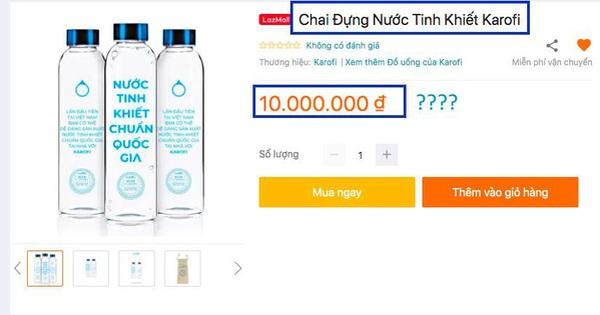 Mua chai nước rỗng đắt gấp 1000 lần giá trị thực và lý do vô cùng thú vị