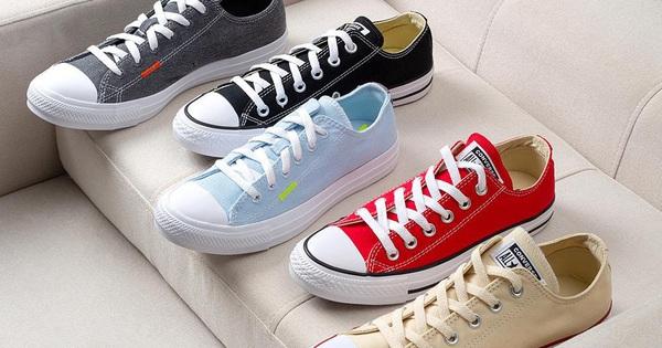 Mua giày Converse, Vans làm quà 8.3, đừng bỏ lỡ địa...
