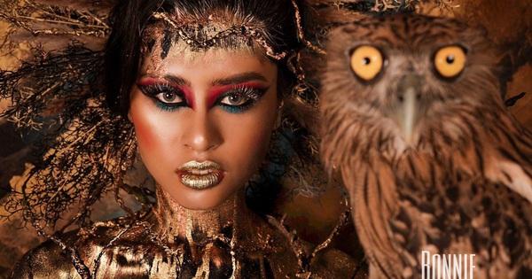 Biến hóa đa dạng với nhiều kiểu makeup độc lạ tại Hoàng Quyên Bonnie Makeup Academy