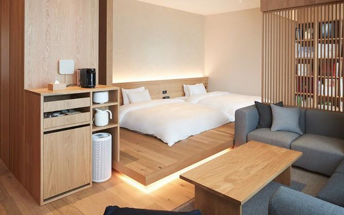 """Không chỉ bán mỹ phẩm, Muji Nhật vừa khai trương khách sạn phong cách tối giản, giá """"sương sương"""" 3 triệu/đêm"""