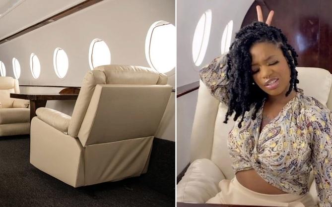 """Căn studio được """"cải trang"""" thành cabin máy bay riêng, dành cho người ít tiền nhưng muốn sang chảnh trên MXH"""
