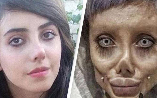 """Cô nàng """"Angelina Jolie bản zombie"""" nhận án 10 năm tù vì tội truyền bá hình ảnh lệch lạc"""