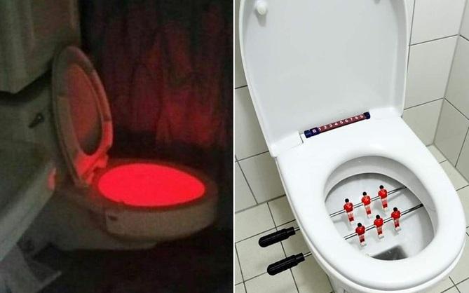 """Tuyển tập những nhà vệ sinh """"hắc ám"""", nhìn xong là đủ kiên nhẫn nhịn đến lúc về nhà"""