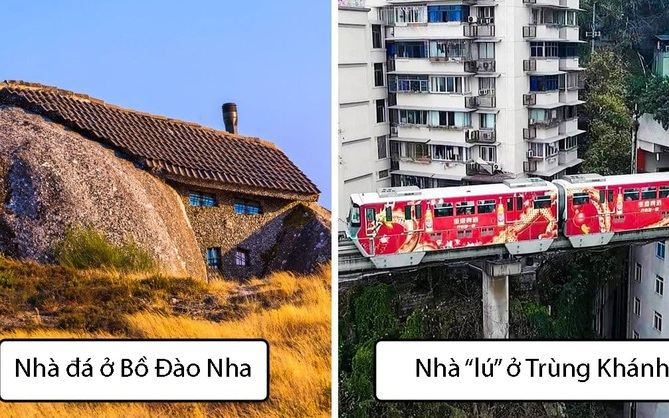 13 ngôi nhà có kiến trúc bất thường tới nỗi chẳng hiểu nổi gia chủ sống trong đó kiểu gì