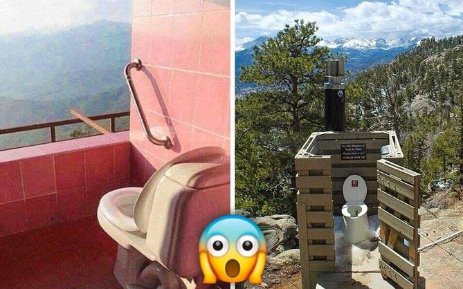 """14 nhà vệ sinh có view """"độc nhất vô nhị"""", ngồi một lần là nhớ cả đời luôn"""