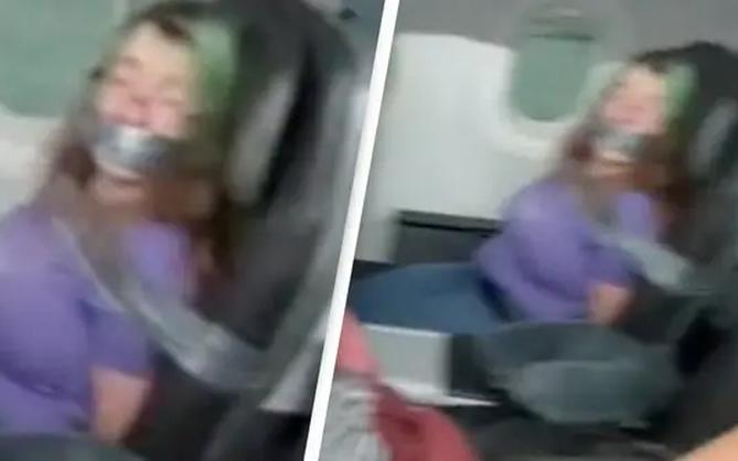 Hãng hàng không bị chỉ trích vì bịt miệng và trói khách vào ghế bằng băng keo, nhưng nghe lý do xong thì không ai phẫn nộ nữa