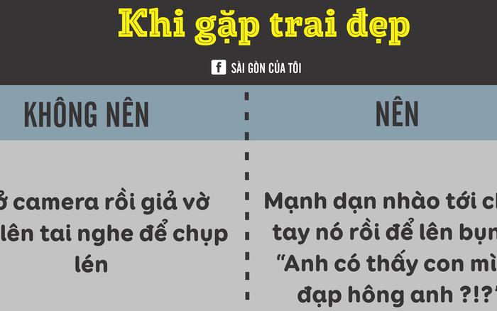 Muốn trở thành người Sài Gòn thứ thiệt, cứ học thuộc lòng những nguyên tắc  này!