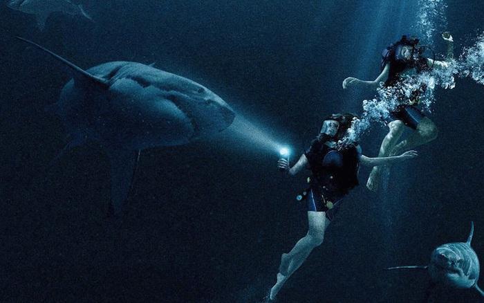 """""""47 Meters Down"""": Cá mập và tình chị em """"nắm nem ba đồng"""""""