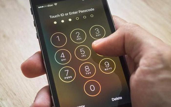 Kết quả hình ảnh cho Hãy để mật khẩu iPhone thật mạnh