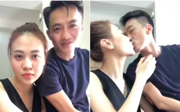 Kết quả hình ảnh cho Đàm Thu Trang và Cường Đô La ngày càng thoải mái trong việc thể hiện tình cảm chốn đông người.