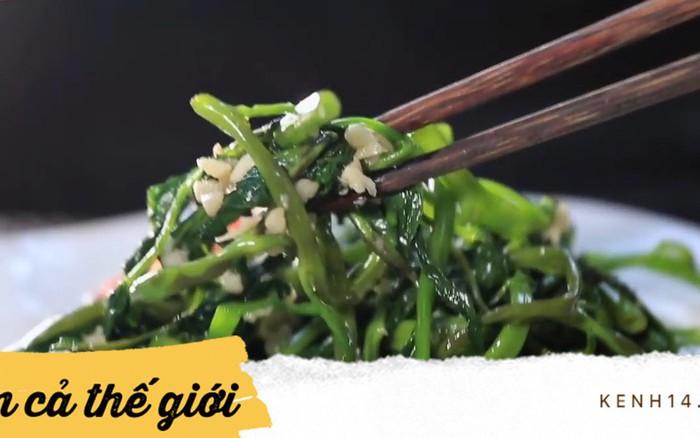 Càng ngày càng có nhiều món ngon Việt Nam chinh phục sao Hàn, món rau ...