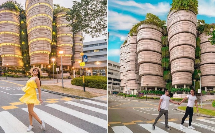 Độc nhất thế giới tòa nhà hình giỏ Dimsum nổi tiếng khắp bản đồ sống ảo Singapore, đi 1 ...