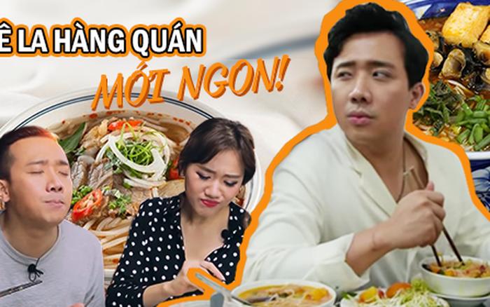 Là MC có thu nhập khủng nhất nhì Việt Nam nhưng Trấn Thành ăn uống lại cực giản dị, ...