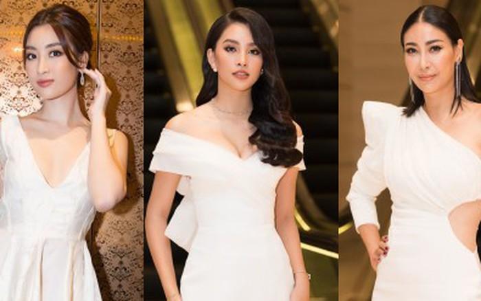 Dàn Hoa hậu, Á hậu đọ sắc bất phân thắng bại tại sự kiện: Tiểu Vy o ép vòng 1 ...