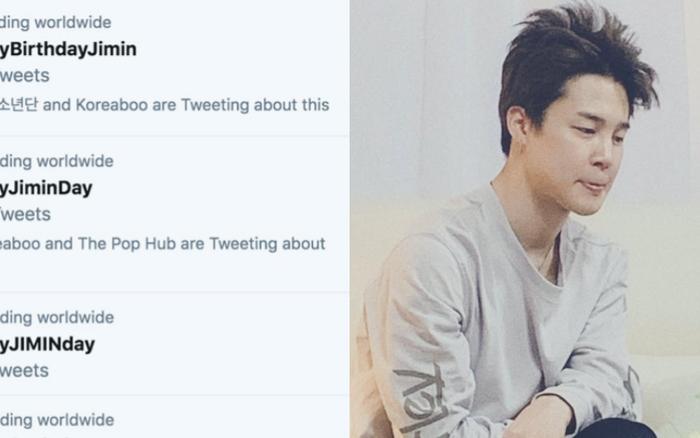 Jimin (BTS) lọt top trending gần 50 quốc gia nhân dịp sinh nhật