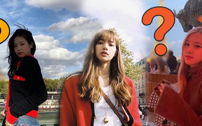 Đã tìm ra địa điểm mà các thành viên BLACKPINK mê tít ở Paris, ...