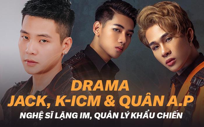 """Toàn cảnh """"drama"""" kéo mãi không kết của Jack, K-ICM với Quân A.P: Nghệ ..."""
