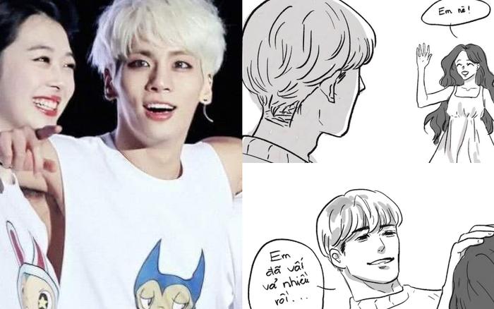Netizen Việt xúc động truyền tay nhau mẩu truyện tranh về Jonghyun và Sulli