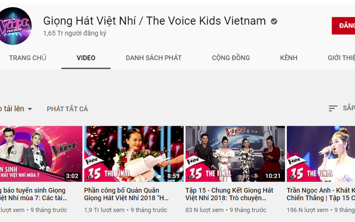 """Kỳ lạ các clip """"Giọng hát Việt nhí 2019"""" bất ngờ """"bốc hơi"""" khỏi ..."""