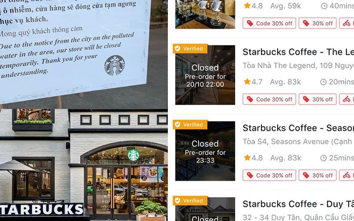 Sau chi nhánh Hà Đông, Starbucks tiếp tục đóng cửa thêm loạt cửa hàng ở ...