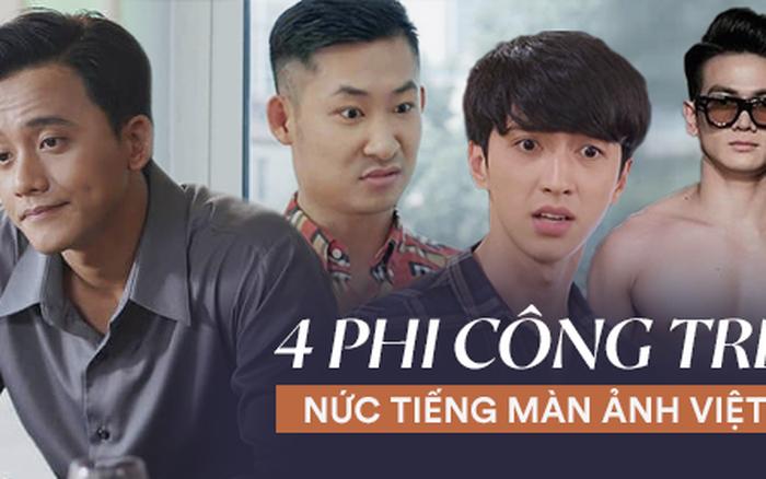 4 phi công trẻ nức tiếng màn ảnh Việt: Số 1 lăm le thả thính cô San (Hoa Hồng ...