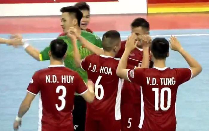 Đội tuyển futsal Việt Nam xuất sắc đánh bại Australia ở trận ra quân AFF Futsal Championship ...