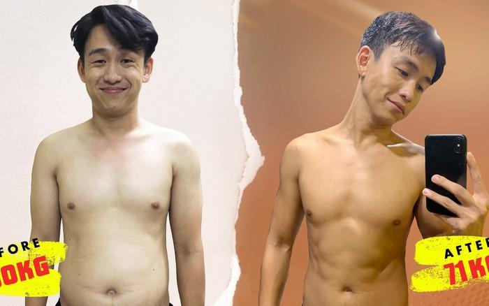 Sốc với hình ảnh MC Quang Bảo lúc béo chạm mức 90kg, nhìn đến body hiện tại mới bất ...
