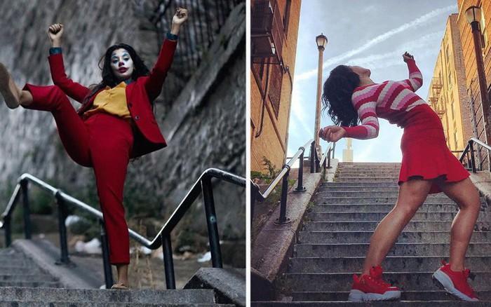 """Chỉ là 1 chiếc cầu thang """"vô danh"""" thôi nhưng cầu thang của gã hề Joker ..."""