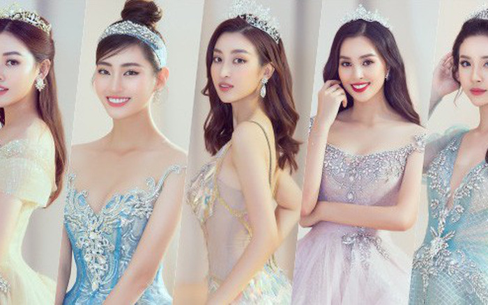 Khoảnh khắc xinh đẹp: Dàn Hoa hậu, Á hậu đình đám Vbiz đọ sắc, hoá Cinderella ...