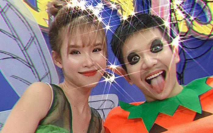 Vợ chồng Khởi My - Kelvin Khánh hóa trang hưởng ứng Halloween: Nhí nhảnh và ngọt lịm ...