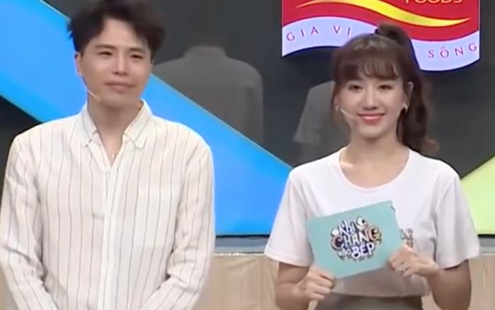 Hari Won hé lộ Trấn Thành từng nấu ăn cho Trịnh Thăng Bình
