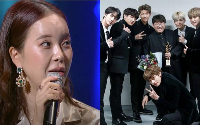 """Nữ ca sĩ ballad chia sẻ """"bố Bang"""" đã tin tưởng vào thành công của BTS ngay ..."""