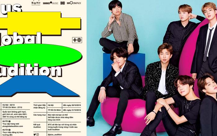 """Big Hit chính thức ấn định ngày """"đổ bộ"""" Việt Nam tuyển thành viên girlgroup ..."""