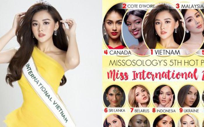 Missosology hết lời khen ngợi Tường San, dự đoán đại diện Việt Nam sẽ đăng quang Miss International ...