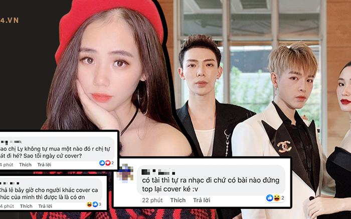 """Ekip Hương Ly làm netizen ngán ngẩm: """"Có tài tự ra nhạc đi chứ bài nào ..."""