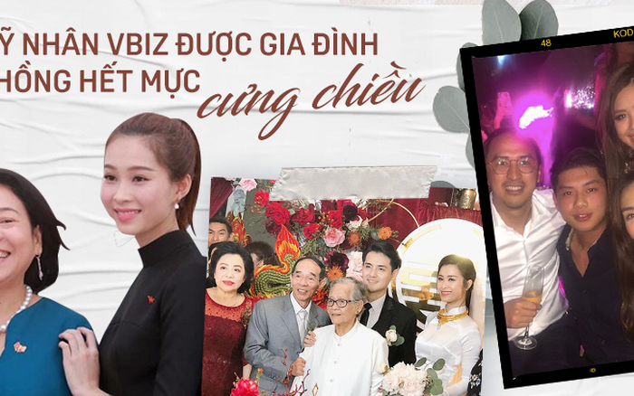 Chuyện mỹ nhân Vbiz và gia đình nhà chồng: Đông Nhi vừa làm dâu ...