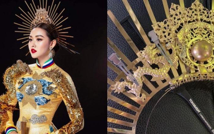 Trước giờ Chung kết Miss International, Tường San gặp sự cố gãy mấn áo dài trang phục ...