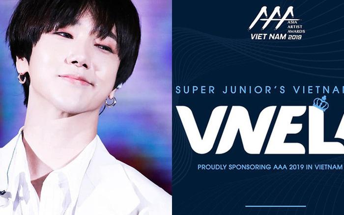 Nghe tin VNELF là đơn vị tài trợ AAA 2019, Yesung (Super Junior) tự hào khoe fan Việt ... - aaa