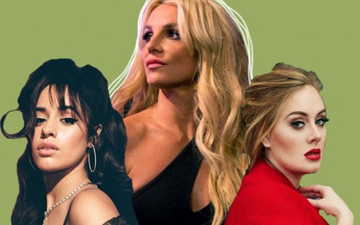 Album của Britney Spears, Lady Gaga, Camila Cabello và loạt sao bị chính chủ nhân ...