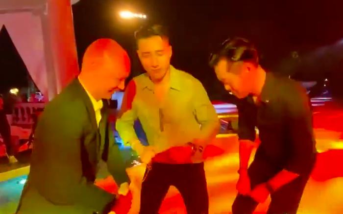 """Sao Việt và muôn kiểu """"dẩy đầm"""" tại đám cưới Đông Nhi - Ông Cao Thắng"""