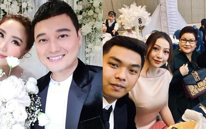 Dàn sao Vbiz trong hôn lễ của Bảo Thy: MiA sánh đôi cùng ông xã, Quang ...