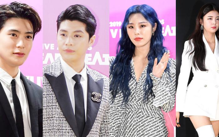 Thảm vàng hot nhất xứ Hàn: Noo Phước Thịnh bảnh bao đọ sắc dàn nam thần NCT và GOT7, ...