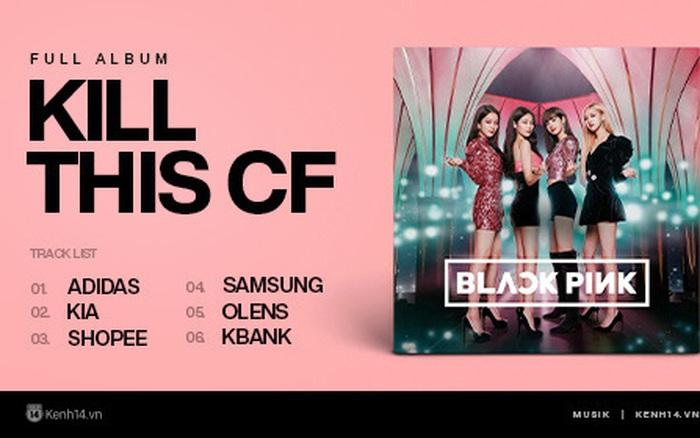 """Cuối cùng cũng được nhìn thấy """"full album"""" của BLACKPINK rồi, xịn xò thế ..."""